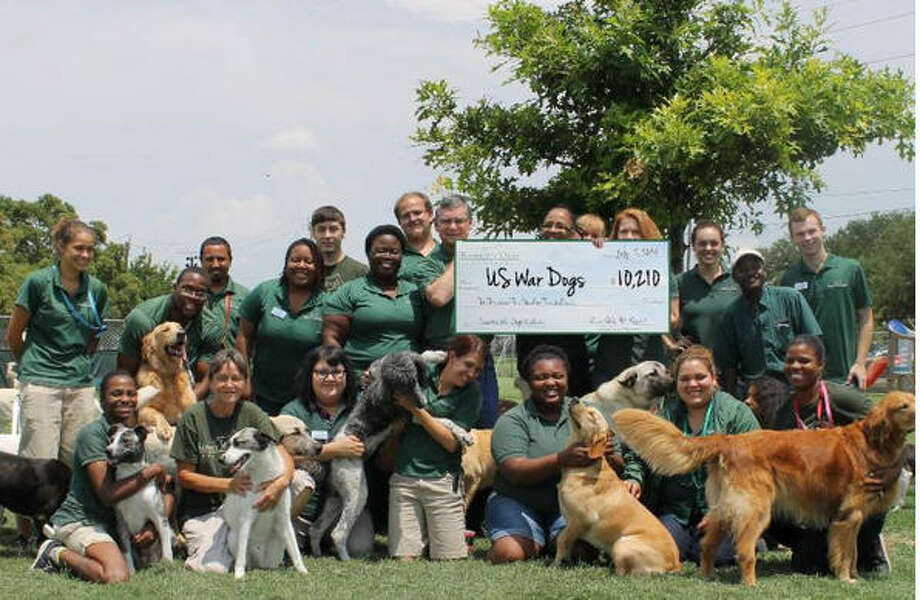 In 2014, Rover Oaks raised a total of $10,210 for the U.S. War Dogs Association through Operation: War Dogs. Photo: Rover Oaks