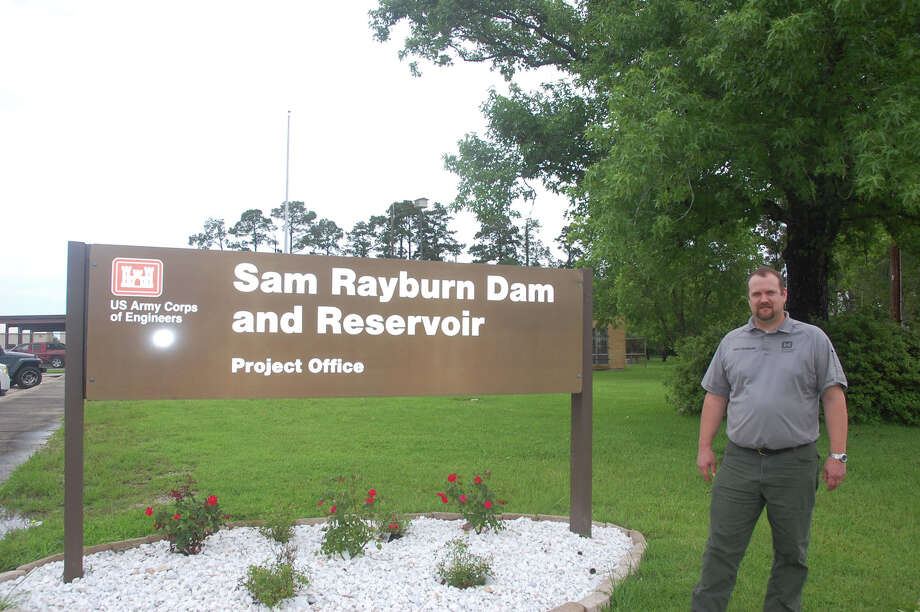 Bart Dearborn the Sam Rayburn Lake Manager photo by jeff Reedy