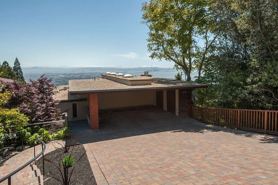 Architect Mark Mills designed the hillside home in 1962. Click here to see what else is on the market in Berkeley. Photo: Thomas Grubba Photography