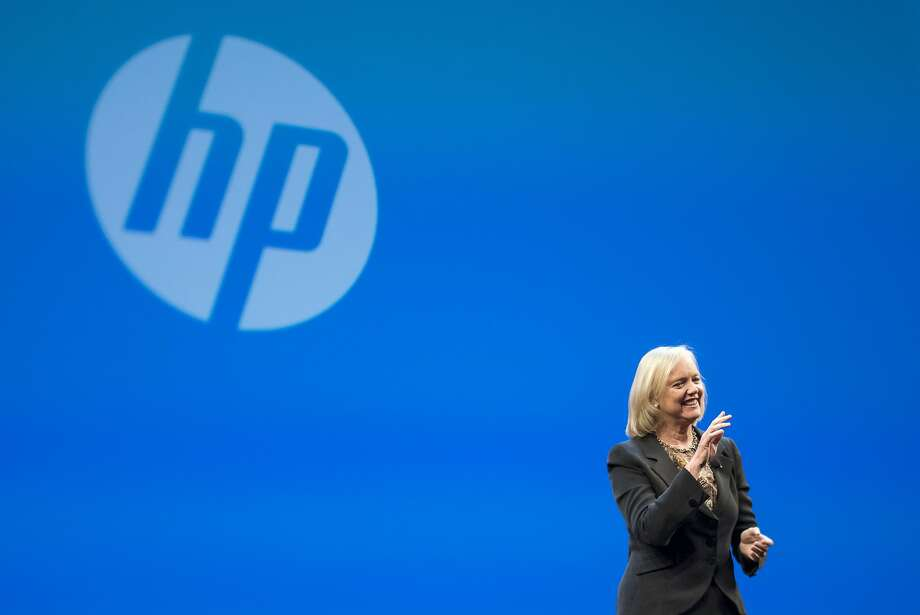 HP and its current and former executives, including CEO Meg Whitman, will be released from any Autonomy-related securities claims as part of the deal. Photo: David Paul Morris, Bloomberg