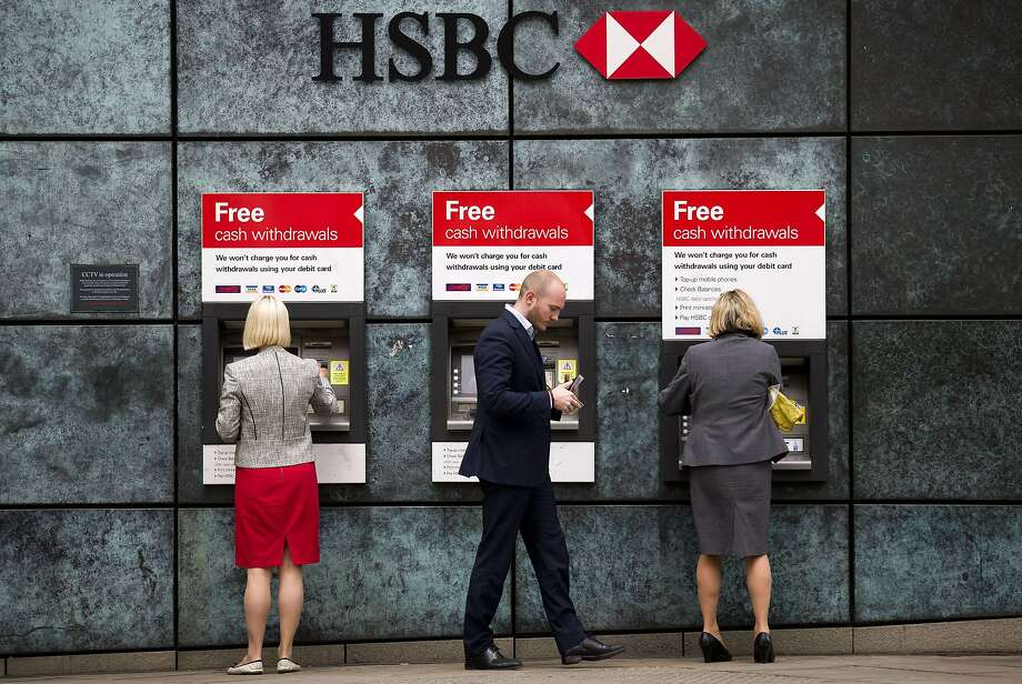 HSBC Holdings, based in London, is slashing jobs around the world as part of a restructuring. Photo: Justin Tallis, AFP / Getty Images