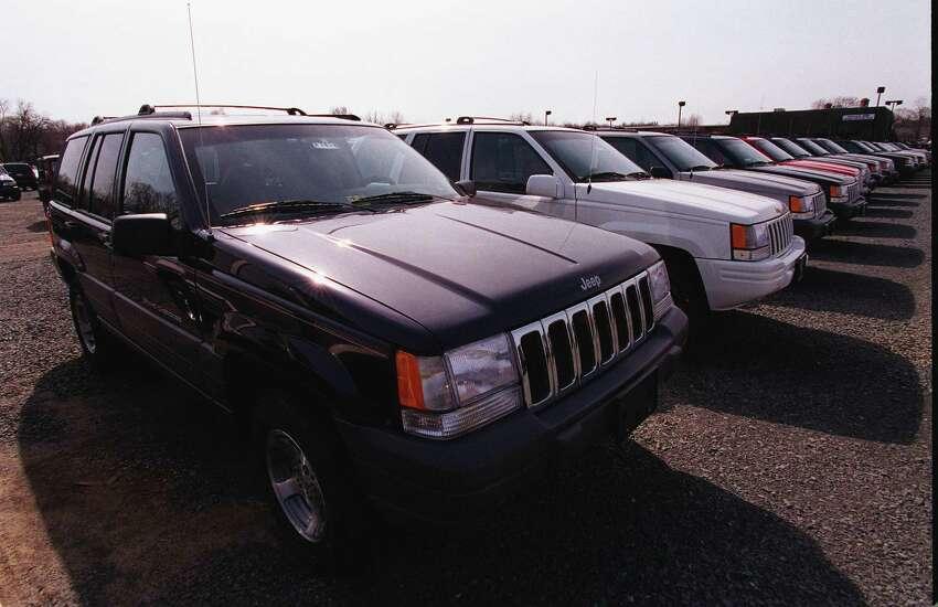 7. Jeep Cherokee/Grand Cherokee