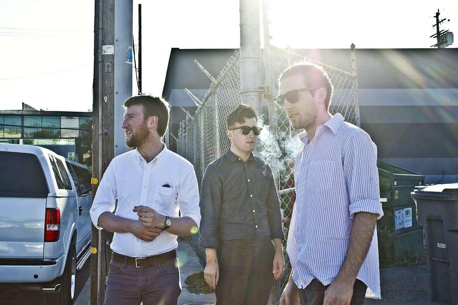 The Tet Holiday: Austin Gibbons (left), Robert Pruett and Andrew Ledford. Photo: Ariel Zambelich