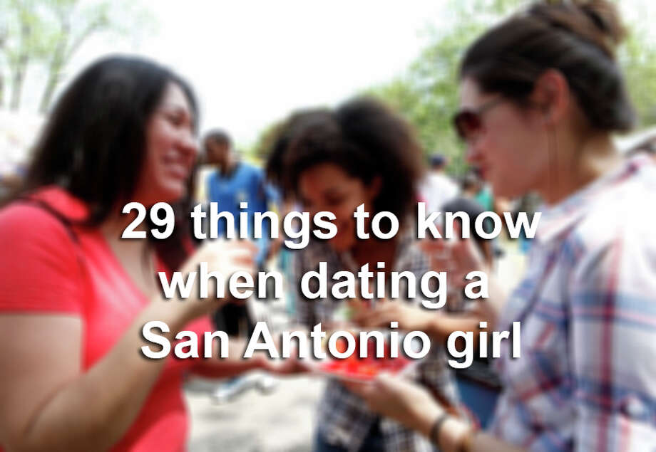 From floral halos to two-stepping, click through the slideshow to see 29 things to know when dating a San Antonio girl. Photo: Cynthia Esparza, Photo Illustration / For the San Antonio Express-News
