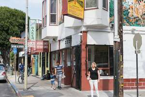 Brooke Segaran opposes legislation introduced by David Campos and the mayor that would restrict the merging of storefronts along the 24th Street Corridor and thereby prevent new restaurants and bars from opening up in San Francisco, Calif., Tuesday, June 9, 2015.