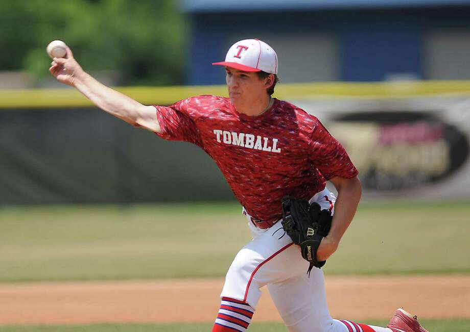 Tomball's Matt Kirschke and the Cougars face Prosper in the UIL Class 5A state semifinals at Dell Diamond in Round Rock Thursday. Photo: Dave Rossman, Freelance / Freelalnce