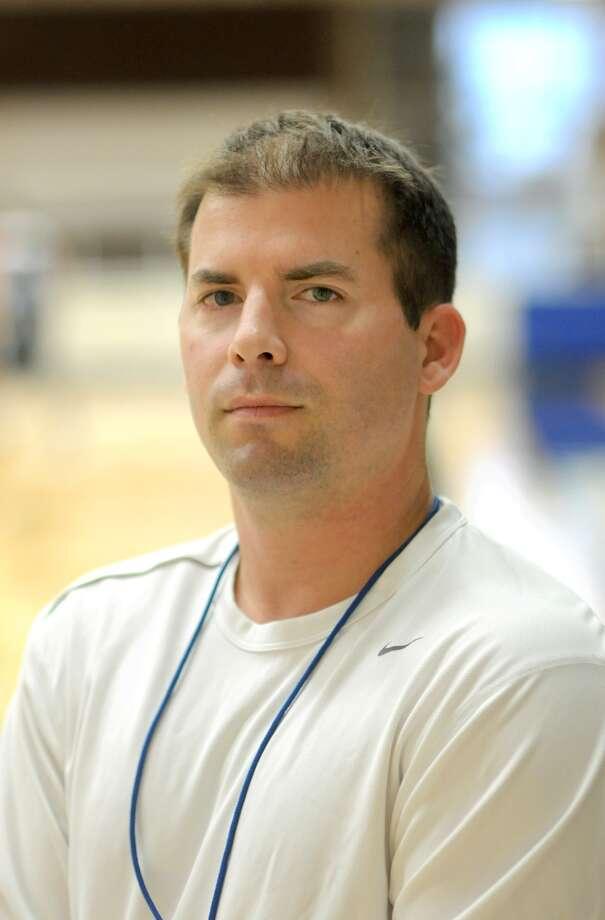 Sam Rayburn Head Boys Basketball Coach Jeremy Mills Photo: Jerry Baker, Freelance