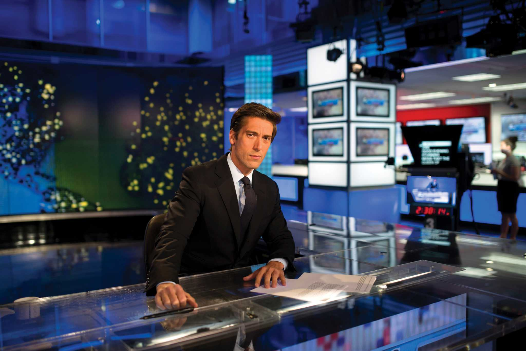 Unmarried David Muir in ABC