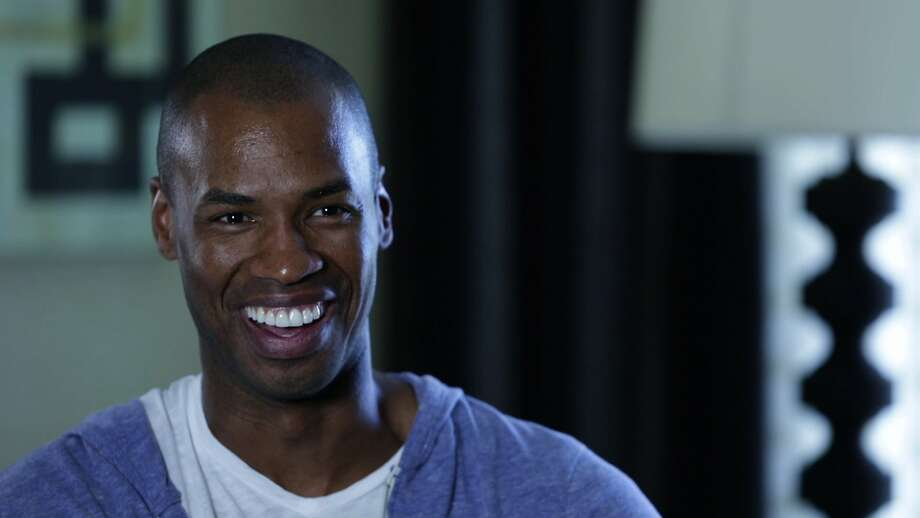 "Jason Collins, the first openly gay active NBA player, appears in the documentary ""Out to Win."" Photo: Frameline"
