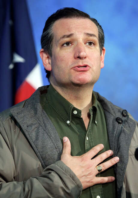 GOP White House hopeful Ted Cruz was in the Valley to raise funds. Photo: Tom Reel / San Antonio Express-News