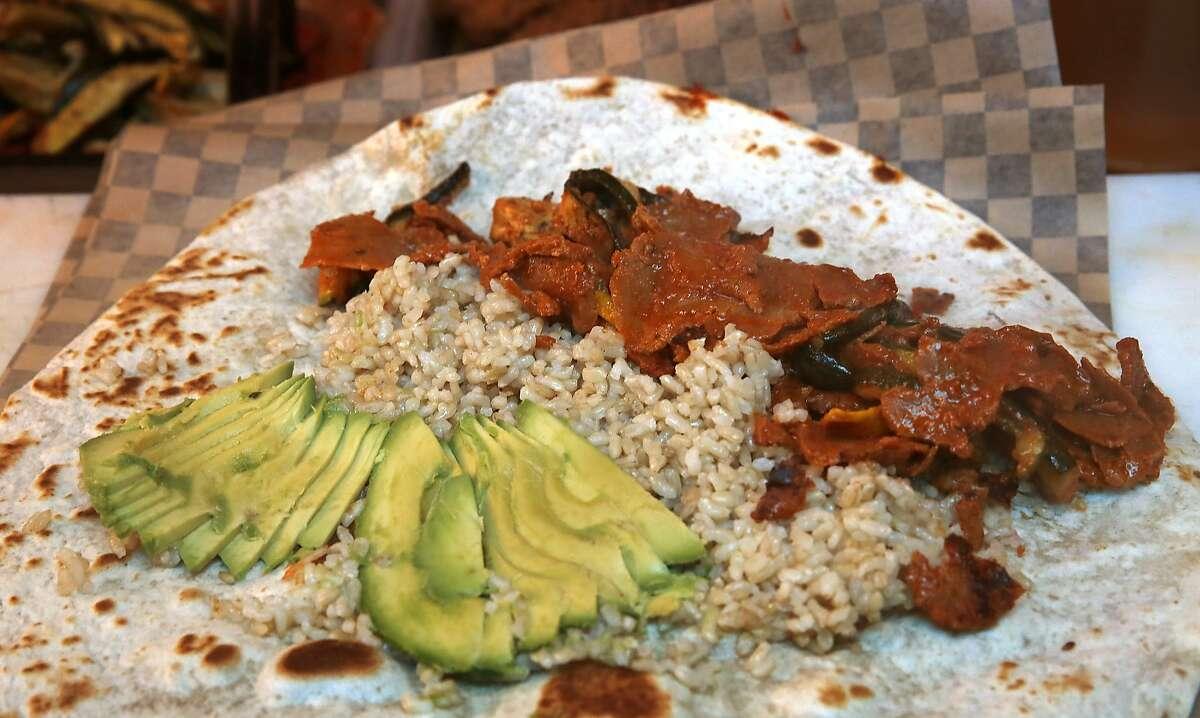 at Hella Vegan Eats in San Francisco, California, on Tuesday, June 2, 2015.