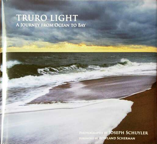"""Cover of Joseph Schuyler's book, """"Truro Light,"""" published posthumously, at his home Tuesday June 2, 2015 in Delmar, NY.  (John Carl D'Annibale / Times Union) Photo: John Carl D'Annibale / 00032095A"""