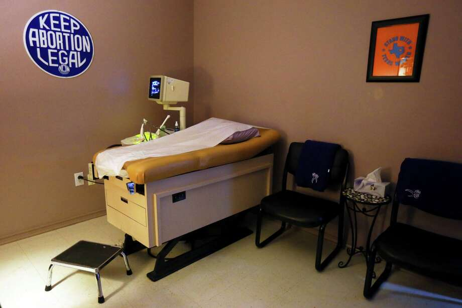 "The Supreme Court on Monday struck down an ""undue burden"" in Texas law for women seeking an abortion. So where does that leave them? Pictured: The Whole Woman's Health facility, an abortion clinic in McAllen Photo: JENNIFER WHITNEY, STR / NYTNS"
