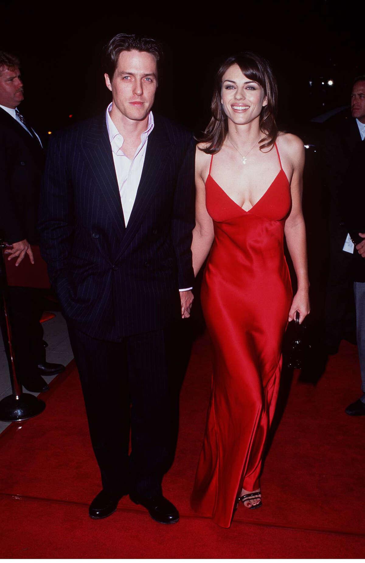 Hugh Grant and Elizabeth Hurley.