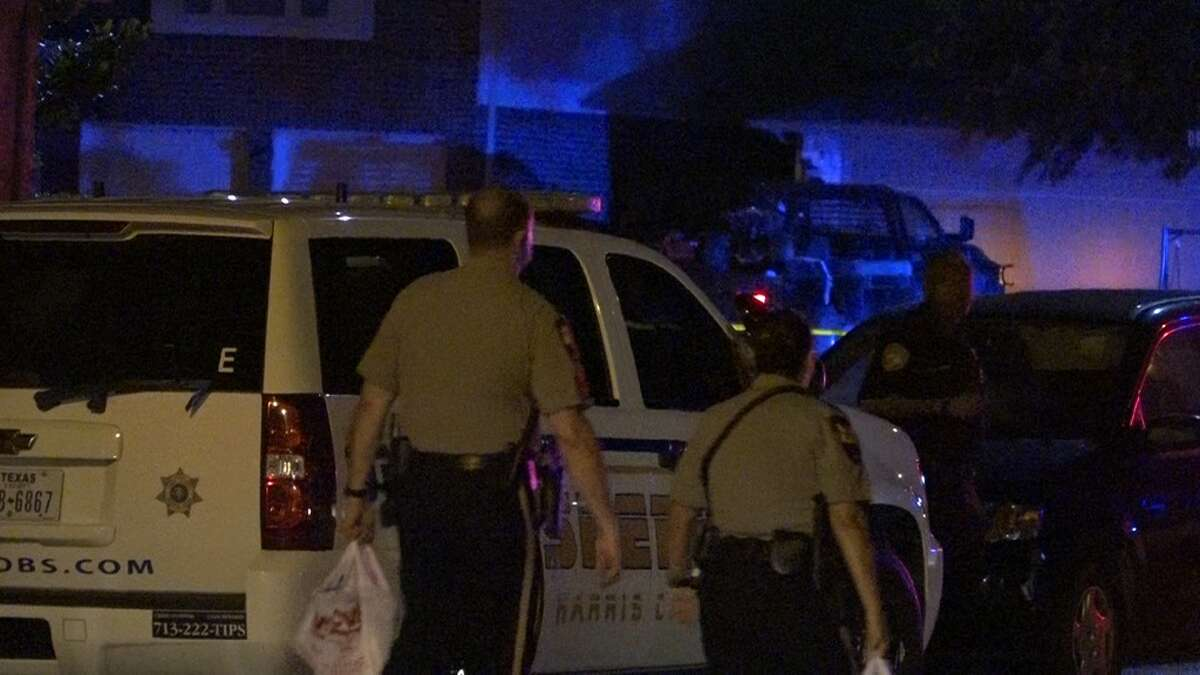 A Tomball officer fired at a suspect after a police chase on Tuesday night.