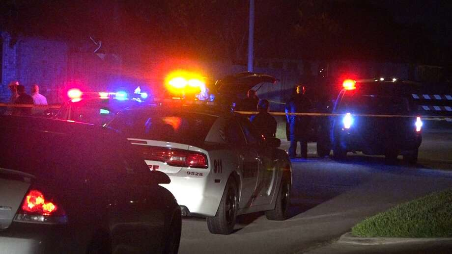 A Tomball officer fired at a suspect after a police chase on Tuesday night. Photo: Montgomery County Police Reporter