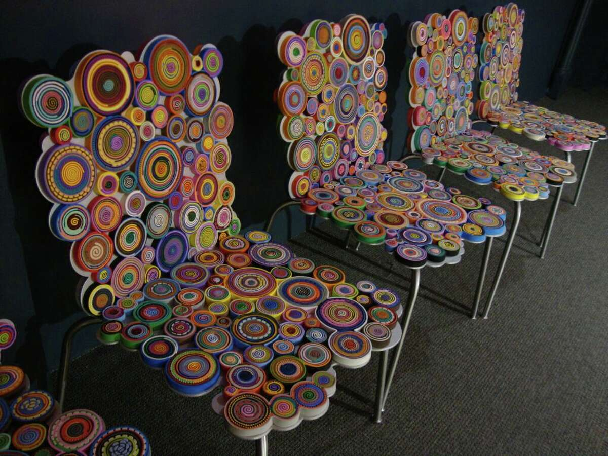Functional and colorful art is included in the Pizzuti Collection in Columbus, Ohio.