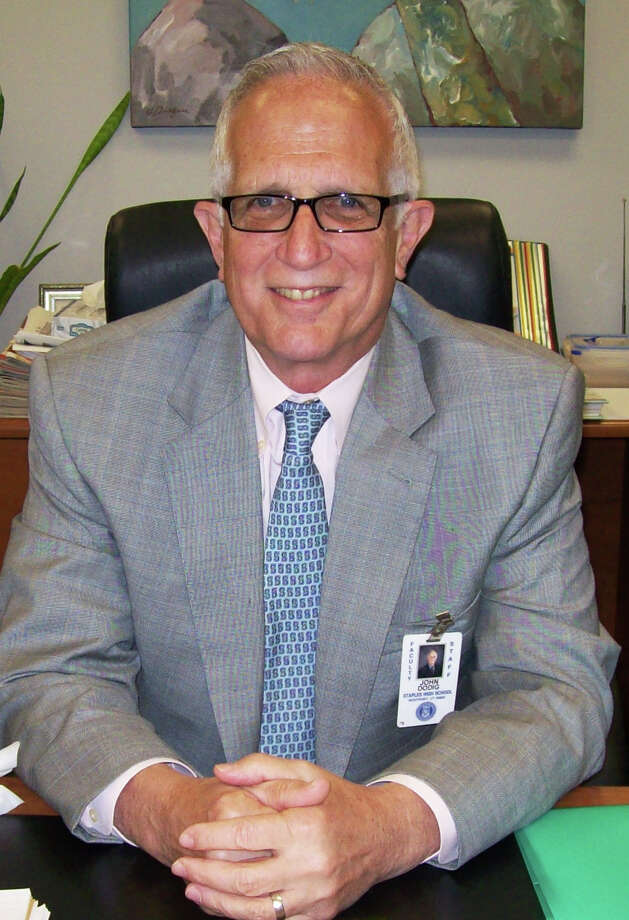John Dodig is retiring as Staples High School principal after 11 years. His last day on the job is June 30. Photo: Anne M. Amato / Anne M. Amato / westport news