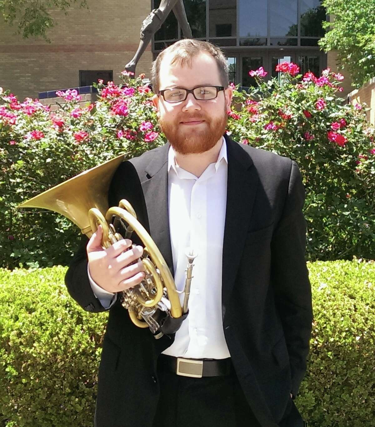 Aaron Griffin, Horn é± Aaron is from Pasadena and took up horn in 5th grade because éit looked the neatest and no one else wanted to play it.é His best friend Steven Winter, has been a huge influence on Aaronés music career. Winter has a Masters of Music from the New England Conservatory and was Aaronés teacher his senior year at South Houston High School. They have performed in many ensembles together and to this day he continues to teach and inspire Aaron to play the horn. Aaron is studying horn performance at UH Moores School of Music with Gavin Reed. At UH, Aaron has played at the top of all of the ensembles and is principal of the Wind Ensemble. He is an active freelancer and has taught at many schools in the Greater Houston Area. Other primary teachers include his best friend, Steven Winter, and Kevin McIntyre. In his spare time, Aaron enjoys playing disc golf and collecting classical albums. Highlights of his musical career are: Touring with the HBU Choir across Texas, Oklahoma and Arkansas, Performing Beethoven 7 with the UH Moores School of Music Symphony Orchestra and traveling to the Midwest Clinic with the UH Wind Ensemble and Symphony Orchestra. He wants to perform with any major US orchestra, but mainly the Chicago Symphony. This will be Aaronés second year to participate in the Texas Music Festival. éI have had many friends perform at this Festival and wanted to join the club.é