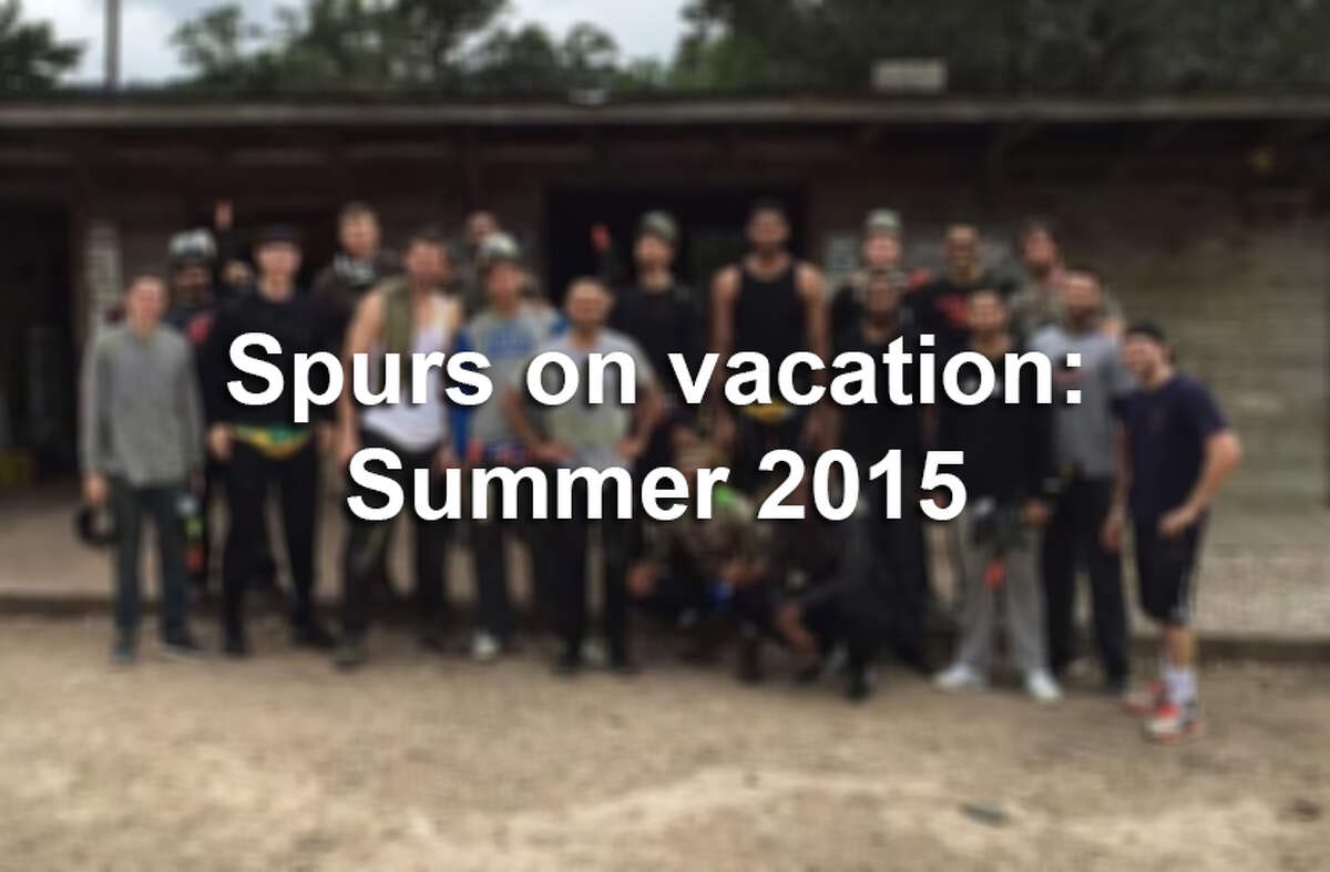 After a disappointing playoff exit, the Spurs took a break and shared photos of their holidays on social media.