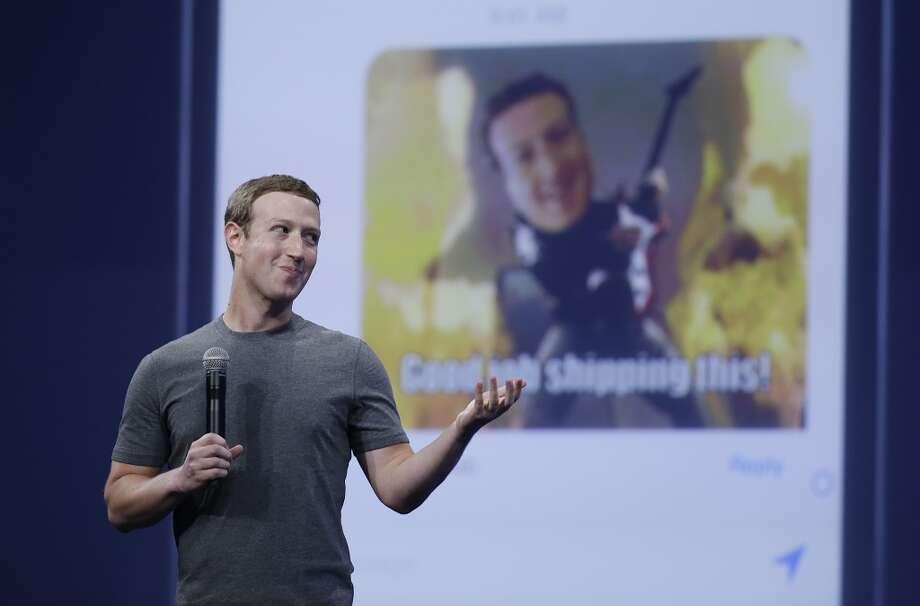 Mark Zuckerberg of Facebook. Photo: Eric Risberg, Associated Press