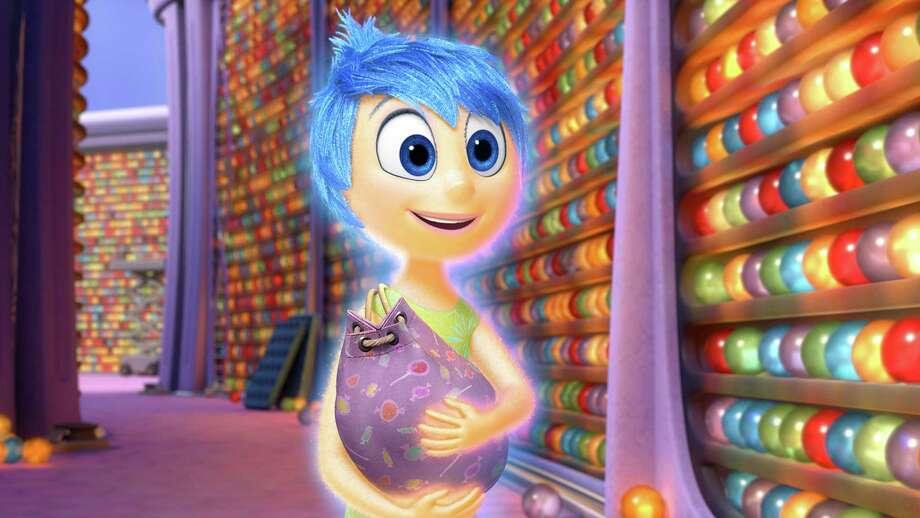 "Amy Poehler is the voice of Joy in Disney-Pixar's ""Inside Out."" (Photo courtesy Disney-Pixar/TNS) Photo: Handout, HO / McClatchy-Tribune News Service / TNS"