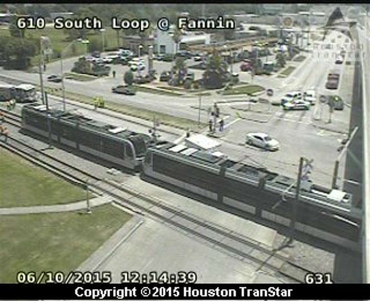 A pedestrian was killed in an accident with a Metro rail train on June 10 near Loop 610.