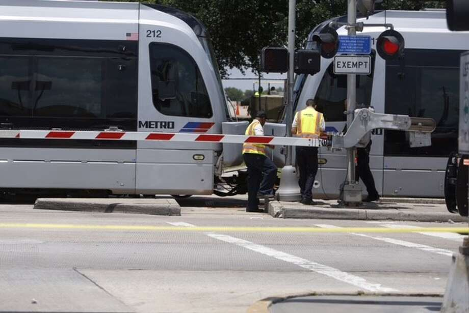 A pedestrian was killed in an accident with a Metro rail train on Wednesday, June 10, 2015.