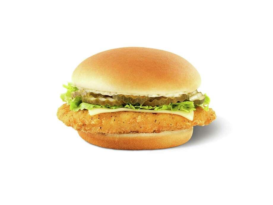 Crispy Dill Chicken Sandwich Photo: Brandon Jones