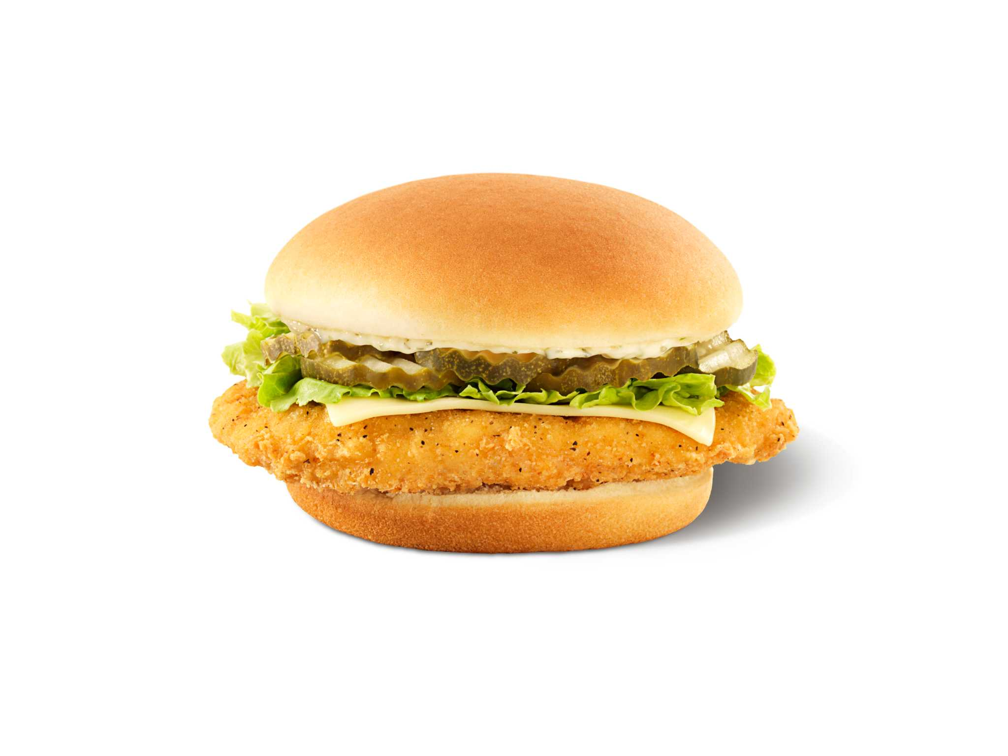 Wendy 39 s chicken sandwich is the real dill houston chronicle for Wendy s fish sandwich