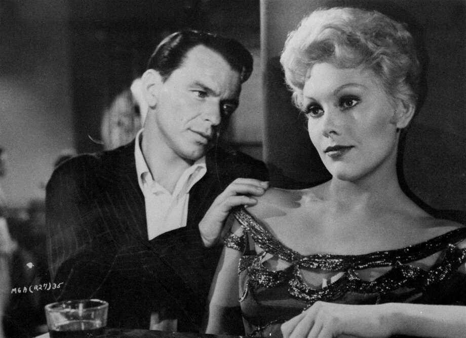 "Frank Sinatra and Kim Novak star in the 1955 film ""The Man With the Golden Arm."" Photo: HO / UNITED ARTISTS"