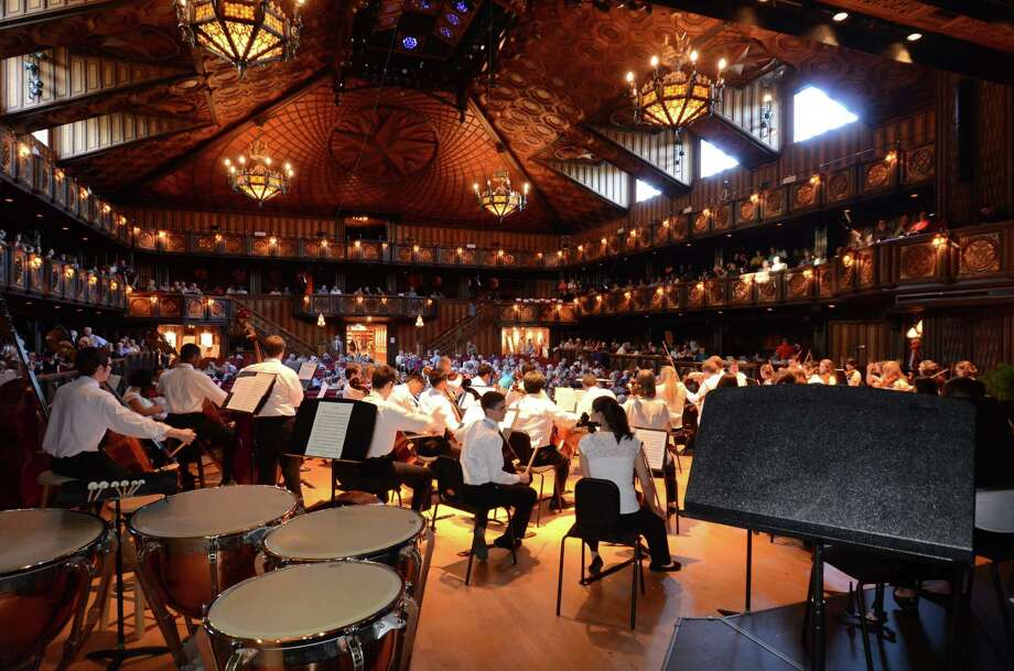 The Round Top Festival Institute concert hall is known for having outstanding acoustic qualities. Photo: Bernard Mendoza