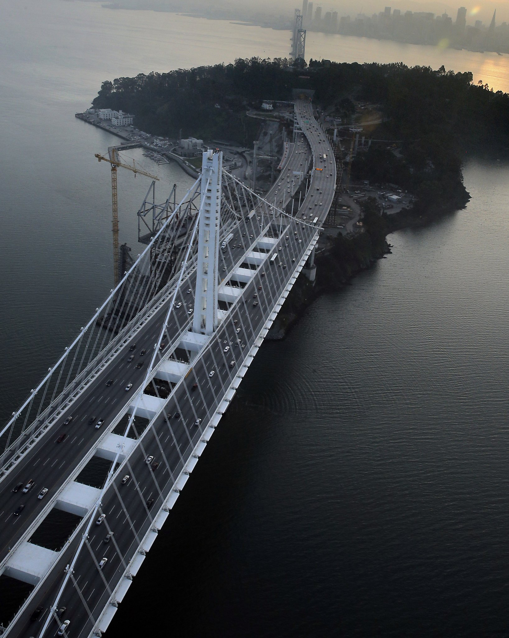 Ominous new cracks found on Bay Bridge rods - SFGate