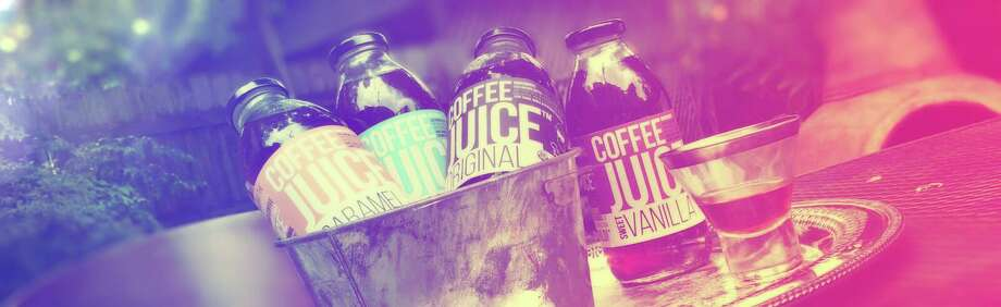 A bucket of Coffee Juice products Photo: Courtesy Photo