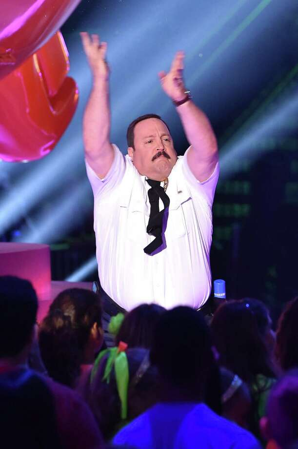 INGLEWOOD, CA - MARCH 28:  Actor Kevin James speaks onstage during Nickelodeon's 28th Annual Kids' Choice Awards held at The Forum on March 28, 2015 in Inglewood, California. Photo: Kevin Winter, Getty Images / 2015 Getty Images