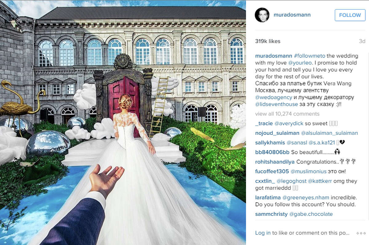 The famous couple finally married and you couldn't imagine a more incredible setting.