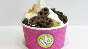 16 Handles is one of several frozen yogurt chains to set up shop in the Capital Region, riding the wave of froyo's popularity. (16 Handles)