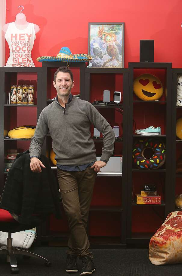 CEO Tim Weingarten shows the Hunt office in San Francisco, California, on Wednesday, June 10, 2015. Photo: Liz Hafalia, The Chronicle