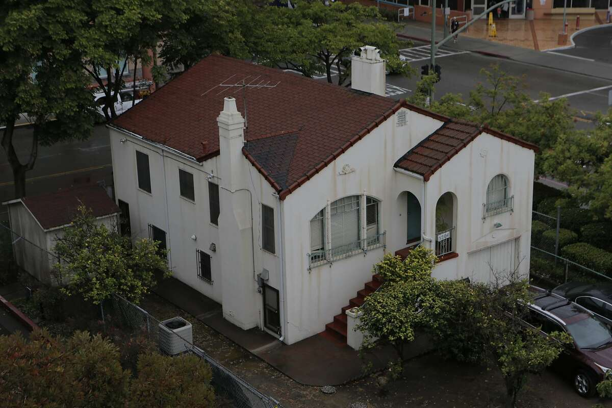 The house located at 5204 Martin Luther King Jr. Way in Oakland, California, is seen on Wednesday, June 10, 2015. The house is owned by Children's Hospital Oakland, which offered $20,000 to anyone willing to relocate the structure, according to Media Relations Manager Melinda Krigel.