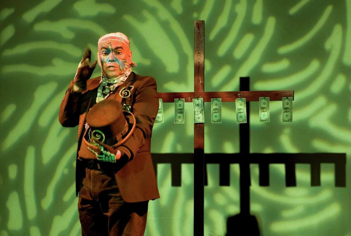 """Jose Torres-Tama deals with immigration in his solo show """"Aliens, Immigrants and Other Evildoers,"""" which he will be performing at the Guadalupe Cultural Arts Center."""