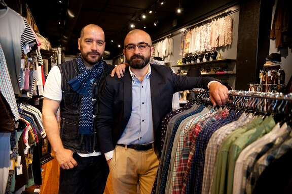 Store co-founders Gabriel Ya–ez and Miguel Lopez at Sui Generis on Wednesday, June 10, 2015, in San Francisco, Calif.