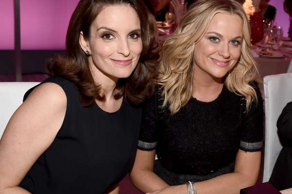 """Tina Fey and Amy Poehler are the best friends we all aspire to be. Smart, funny and fiercely loyal. We've been lucky enough to observe it from the desk of """"SNL""""'s Weekend Up date to the stage of the Golden Globes."""