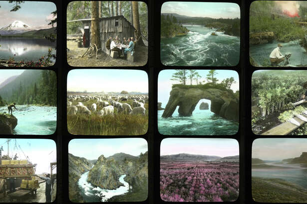 Click through for a look at rare color photos taken by Asahel Curtis, one of Washington's great photographers. The hand-colored lantern slides pictured here are sometimes strange, often beautiful -- think of them as Instagram for the 1920s. And please check them out.