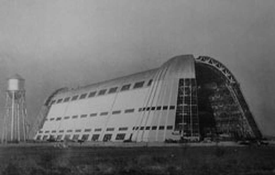 NASA Ames Research Center's Hangar One, Calif. Credit: Wikimedia CommonsNational Trust's caption: Hangar One, with its exceptional character, innovative design and technical virtuosity, has long been one of the most recognizable landmarks of California's Silicon Valley.  This cavernous, dome-shaped structure, built in 1932 to house U.S. Navy dirigibles, measures 200 feet tall and covers more than 8 acres of land. During World War II, it served as a docking station for the USS Macon, the largest aircraft in the world at the time. The hangar dominates the landscape at Moffett Field, towering over an impressive array of 1930s-era Spanish Colonial Revival military buildings, which are now part of NASA's Ames Research Center.  Hangar One is notable for its colossal Streamline Modern form, and is regarded as emblematic of Silicon Valley's contributions to aviation and space advancement as well as technology research and development.