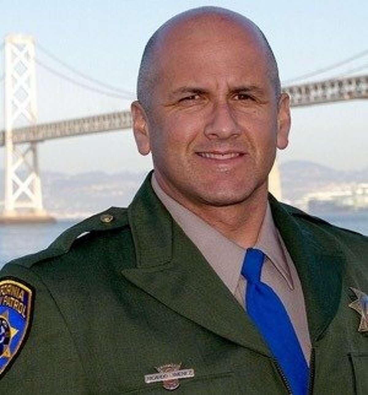 California Highway Patrol Officer Ricardo Jimenez