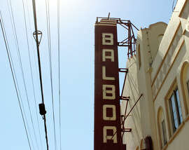 The Balboa Theatre on Balboa Street in Outer Richmond.