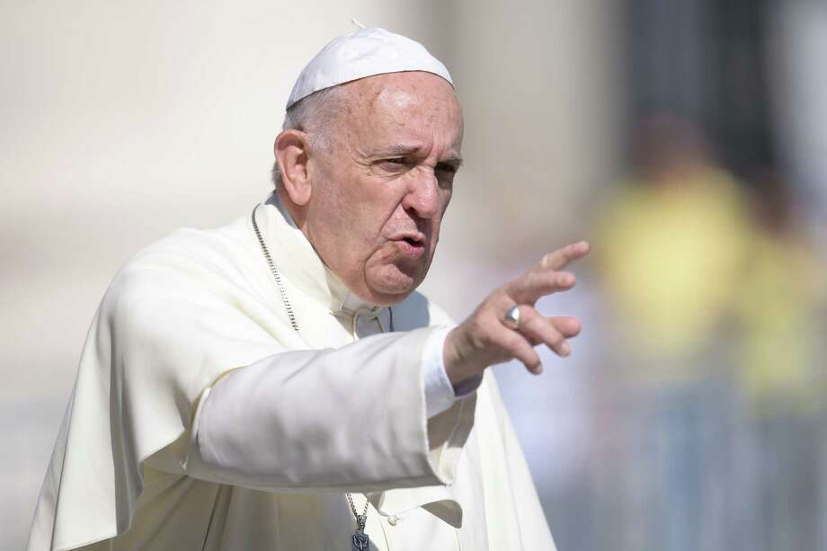 The pope approved  a plan that victims have been urging  for years. Photo: Filippo Monteforte /Getty Images / FILIPPO MONTEFORTE
