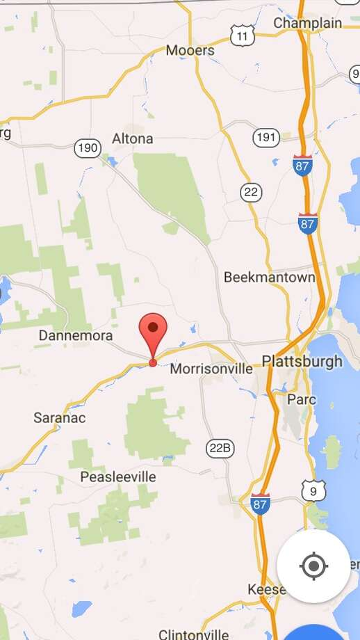 Map Of New York Dannemora.Sources Killers May Be Contained In Search Area Near Dannemora