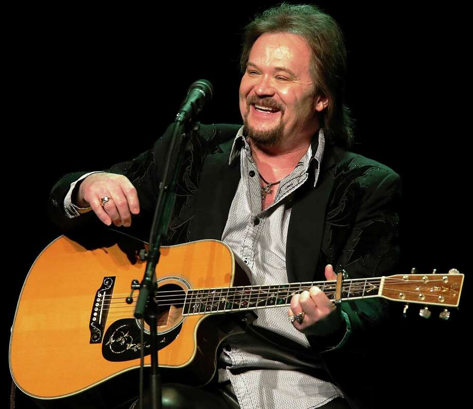 """Travis Tritt performs during his """"An Acoustic Evening With Travis Tritt"""" Tour in California in January. Photo: Getty Images / 2015 Jeff Golden"""