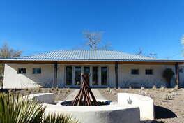 303 E. Texas St., Marfa, Texas 79843 Price: $895,000 Bedrooms: 1 Bathrooms: 1 Square footage: 2,319 Lot size (acres): 0.31  Source: Trulia